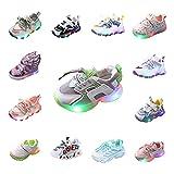 Sneaker Kinder Schuhe Mädchen LED Turnschuhe Jungen Leuchtschuhe Rutschfest Sportschuhe Baby Turnschuhe Schnürsenkel Outdoor Atmungsaktive Turnschläppchen