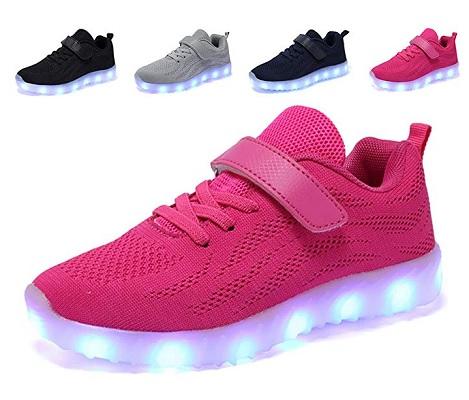 LED Schuhe Leuchtschuhe Kinder